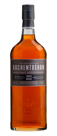 Auchentoshan Scotch Single Malt Three Wood